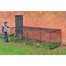 low steel fruit cage