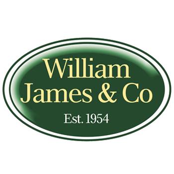 william james fruit cage manufacturer logo