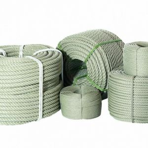 Hemp coloured decking rope