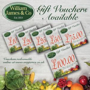 William James Gift Voucher