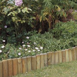 Image for Natural Log Lawn Edge