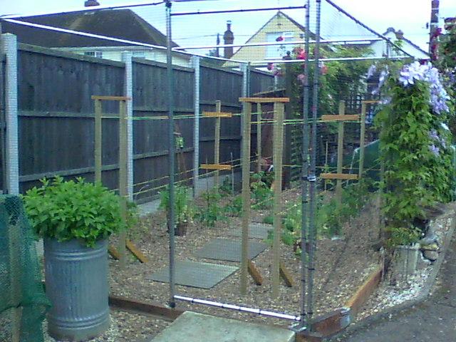 Premium Aluminium Fruit Cage, Private Residence, Essex