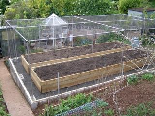 Premium Aluminium Fruit Cage, Private Residence, Brixham