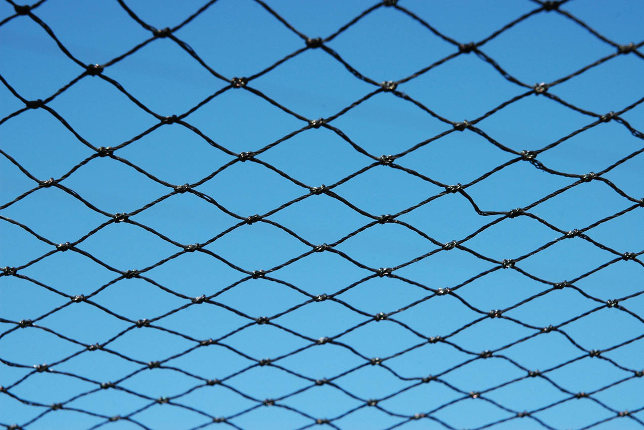 Polythene Knotted Roof Netting